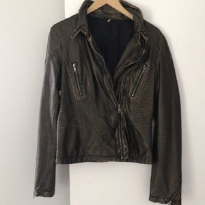 Free People Moto Jacket
